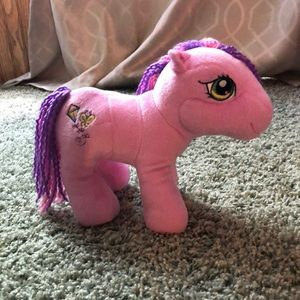 "My Little Pony Skywishes pink& purple 9"" plushy"